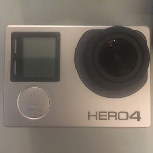 Used, GoPro Hero 4 with LCD screen for sale